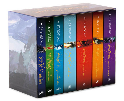 harry potter pack serie completa