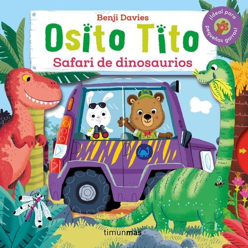 osito tito safari dinosaurios