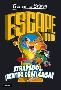 escape book atrapado dentro de mi casa