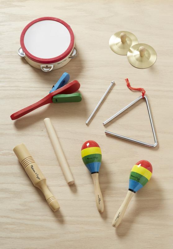 set instrumentos madera