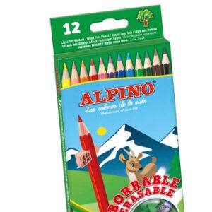 Lapices colores Alpino 12 ud