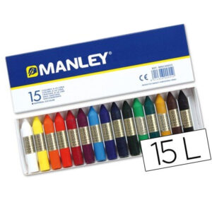 Ceras manley 15 ud, envio material papeleria valencia