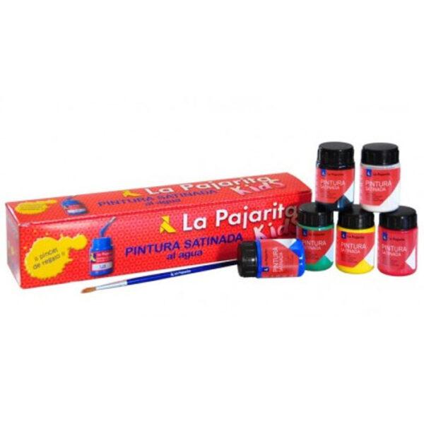 Pack temperas pajarita basicas, envio material papeleria valencia