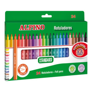 rotulador alpino 24