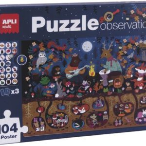 puzzle bosque observacion